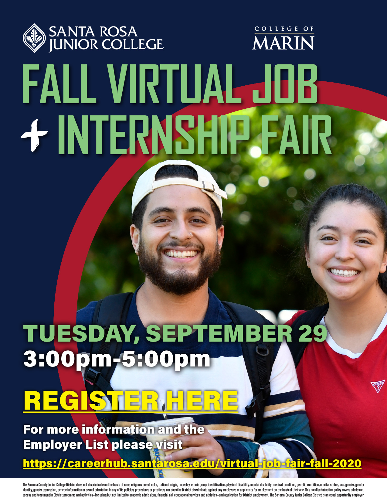 Job and Internship Fair Fall 2020